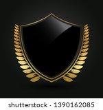 luxury label design.royal logo... | Shutterstock .eps vector #1390162085