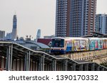 bts mo chit sky train station... | Shutterstock . vector #1390170332