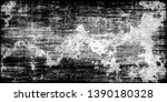 closeup of black white old...   Shutterstock . vector #1390180328