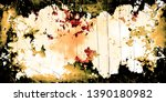 closeup of colorful old film  ...   Shutterstock . vector #1390180982