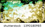 closeup of colorful old film  ...   Shutterstock . vector #1390180985
