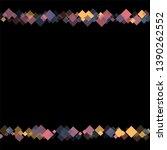 rhombus cosmic minimal... | Shutterstock .eps vector #1390262552