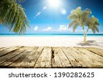 table background of free space... | Shutterstock . vector #1390282625