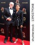 Small photo of LOS ANGELES - MAY 5: Max Gail, Vernee Watson at the 2019 Daytime Emmy Awards at Pasadena Convention Center on May 5, 2019 in Pasadena, CA
