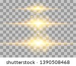 abstract lines with glow light... | Shutterstock .eps vector #1390508468
