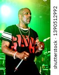 """Small photo of Chicago, IL / USA - May 03 2019: Rapper DMX (born Earl Simmons) on the """"In Celebration of DMX It's Dark and Hell Is Hot 20th Anniversary Tour"""""""