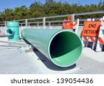Large Green Industrial Pvc...