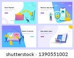 online money transfer vector...   Shutterstock .eps vector #1390551002