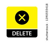 delete icon for web and mobile