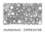auto spare parts and gears ...   Shutterstock .eps vector #1390616768
