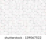 flat binary code screen listing ... | Shutterstock .eps vector #139067522
