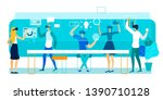 vector illustration virtual...   Shutterstock .eps vector #1390710128