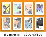 a4 vector brochure banner... | Shutterstock .eps vector #1390769528