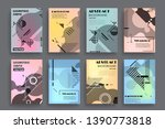 vector a4 brochure banners... | Shutterstock .eps vector #1390773818