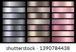 silve  bronze  rose gold pink... | Shutterstock .eps vector #1390784438