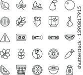 thin line vector icon set  ... | Shutterstock .eps vector #1390817915