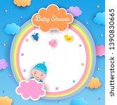 illustration vector of baby... | Shutterstock .eps vector #1390830665