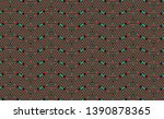 color seamless pattern with... | Shutterstock .eps vector #1390878365