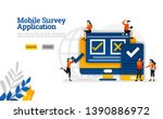 mobile survey application to...