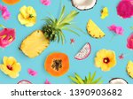 creative layout made of... | Shutterstock . vector #1390903682