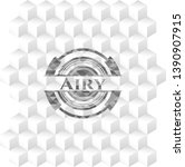 airy grey emblem. retro with... | Shutterstock .eps vector #1390907915
