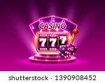 big win slots 777 banner casino.... | Shutterstock .eps vector #1390908452
