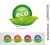 eco icons | Shutterstock .eps vector #139092245