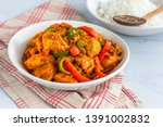 Chicken Jalfrezi   Spicy Stir...