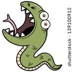 vector illustration of cartoon... | Shutterstock .eps vector #139100912
