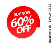 sale of special offers.... | Shutterstock .eps vector #1391040932