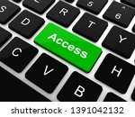 safety concept  computer... | Shutterstock . vector #1391042132