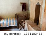the interior of an old rural... | Shutterstock . vector #1391103488