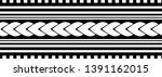 tribal pattern tattoo ... | Shutterstock .eps vector #1391162015