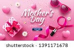 happy mother's day sale poster... | Shutterstock .eps vector #1391171678