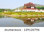 traditional thai architecture... | Shutterstock . vector #139120796