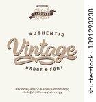 vintage. retro logo. original...   Shutterstock .eps vector #1391293238