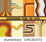 backgrounds  patterns set from... | Shutterstock .eps vector #1391301572