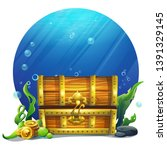 vector illustration closed... | Shutterstock .eps vector #1391329145