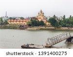 dakshineswar  kali templ in...   Shutterstock . vector #1391400275
