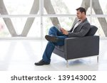 attractive business man in his... | Shutterstock . vector #139143002