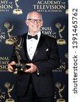 Small photo of PASADENA - May 5: Max Gail in the press room at the 46th Daytime Emmy Awards Gala at the Pasadena Civic Center on May 5, 2019 in Pasadena, California