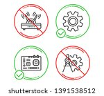 do or stop. service  wifi and... | Shutterstock .eps vector #1391538512