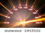 3d Illustration Of Speedometer...