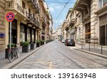 the street with ancient...   Shutterstock . vector #139163948