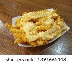 Crispy Cheese Fries at Shake Shack in Dubai Airport
