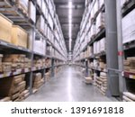 it is a warehouse of a large...   Shutterstock . vector #1391691818