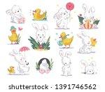 vector hand drawn illustration... | Shutterstock .eps vector #1391746562