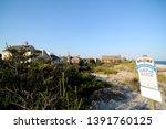 ocean beach village  new york ...   Shutterstock . vector #1391760125