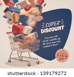 shopping basket | Shutterstock .eps vector #139179272
