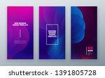 vertical stories sale banner... | Shutterstock .eps vector #1391805728